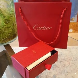 2 Cartier Jewelry Cleaning Sets + 2 New Bags